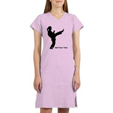 Martial Artist Women's Nightshirt