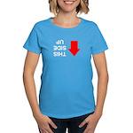 THIS SIDE UP Women's Dark T-Shirt