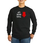 THIS SIDE UP Long Sleeve Dark T-Shirt