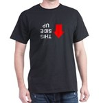 THIS SIDE UP Dark T-Shirt