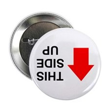 "THIS SIDE UP 2.25"" Button (10 pack)"
