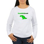 GRUMPASAURUS Women's Long Sleeve T-Shirt