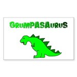 GRUMPASAURUS Rectangle Sticker