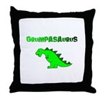 GRUMPASAURUS Throw Pillow