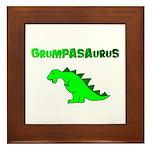 GRUMPASAURUS Framed Tile