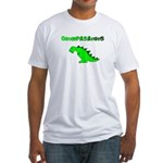 GRUMPASAURUS Fitted T-Shirt