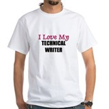 I Love My TECHNICAL WRITER Shirt