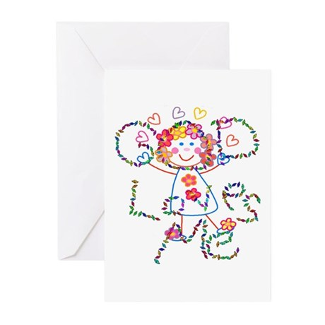 God Loves Me Greeting Cards (Pk of 10)