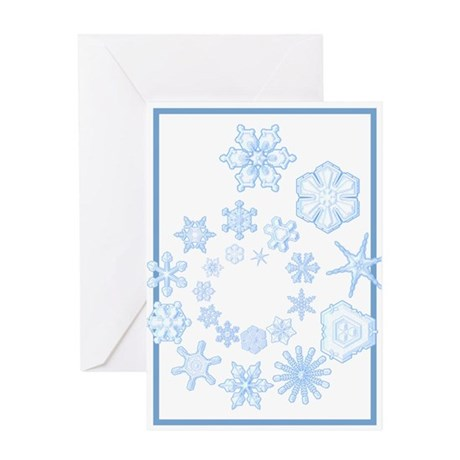 Flurry Greeting Card
