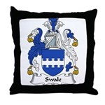 Swale Family Crest Throw Pillow