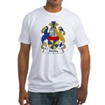 Sturdy Family Crest Fitted T-Shirt