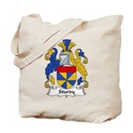 Sturdy Family Crest Tote Bag