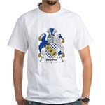 Strother Family Crest White T-Shirt