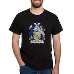 Strother Family Crest Dark T-Shirt