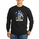 Strother Family Crest Long Sleeve Dark T-Shirt