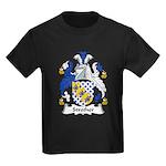 Strother Family Crest Kids Dark T-Shirt
