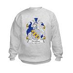 Strother Family Crest Kids Sweatshirt