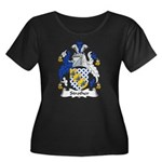 Strother Family Crest Women's Plus Size Scoop Neck