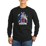 Stratford Family Crest Long Sleeve Dark T-Shirt
