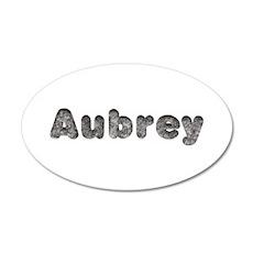 Aubrey Wolf 35x21 Oval Wall Decal