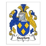 Stopford Family Crest Small Poster