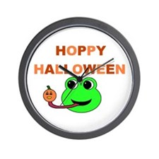 HOPPY HALLOWEEN Wall Clock