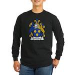 Stockport Family Crest Long Sleeve Dark T-Shirt