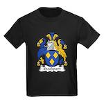 Stockport Family Crest Kids Dark T-Shirt