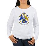 Stockport Family Crest Women's Long Sleeve T-Shirt