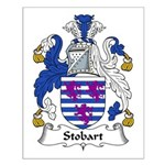 Stobart Family Crest Small Poster
