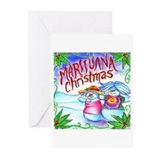 Marijuana Christmas Greeting Cards (Pk of 20)