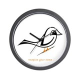 Navid Bird 1 Wall Clock