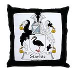 Starkie Family Crest Throw Pillow