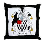 Stanton Family Crest Throw Pillow