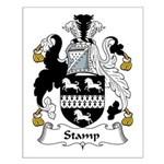 Stamp Family Crest Small Poster