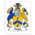 Stagg Family Crest Small Poster