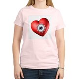Surreal Heart Eyeball T-Shirt