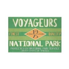 Voyageurs National Park (Retro) Rectangle Magnet