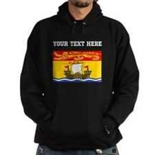 Custom New Brunswick Flag Hoodie