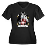 Sowerby Family Crest Women's Plus Size V-Neck Dar