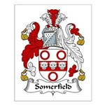 Somerfield Family Crest Small Poster