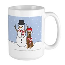 Doberman Pinscher Holiday Mug