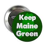Keep Maine Green Button