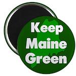 Keep Maine Green Magnet