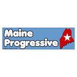 Maine Progressive Bumper Sticker