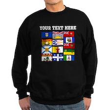 Custom Canadian Provinces Sweatshirt