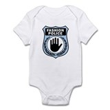 Fashion Police Uniform Onesie