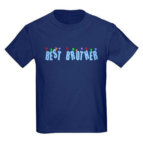 Best Brother Kids Dark T-Shirt
