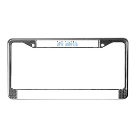 Best Brother License Plate Frame