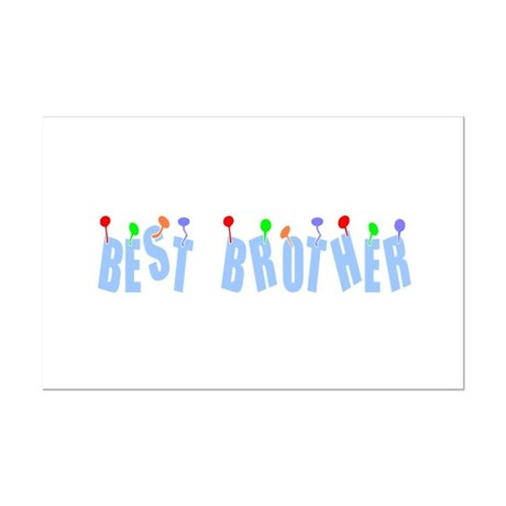 Best Brother Mini Poster Print